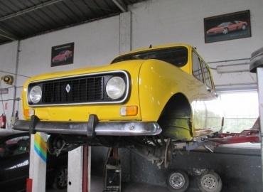 Restauración de coches antiguos