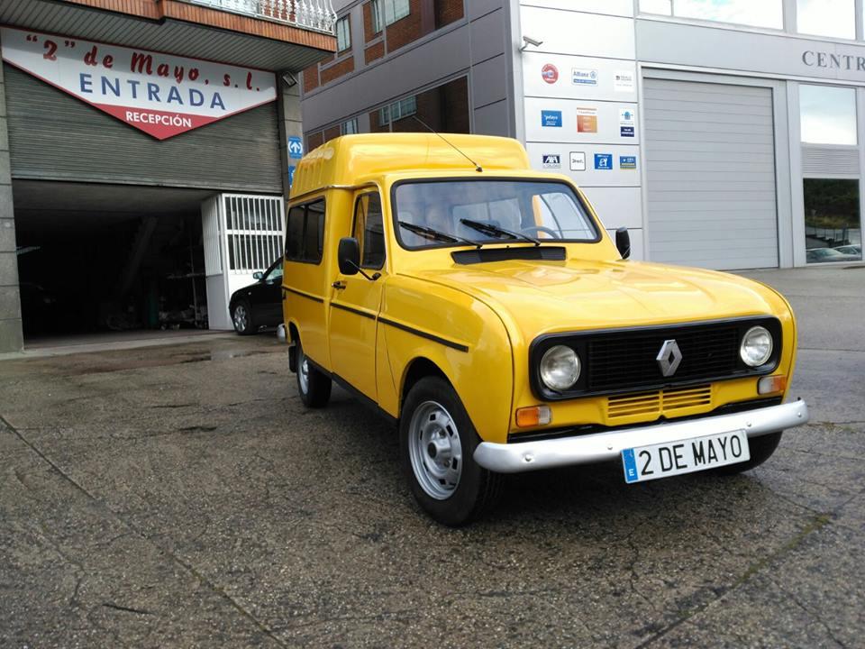 Bonita la recuperacion de esta Renault fl furgoneta